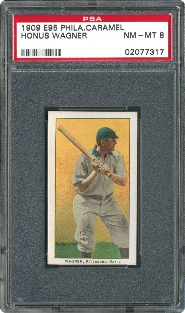 1909 Philadelphia Caramel E95 Honus Wagner Psa Cardfacts