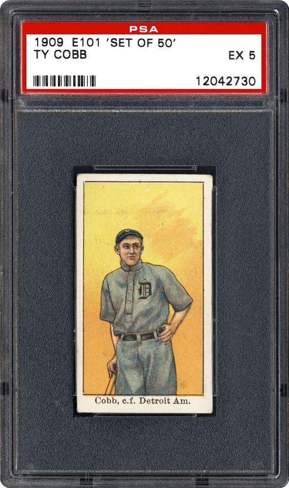 Baseball Cards - 1909 \'Set Of 50\' (E101) | PSA CardFacts™