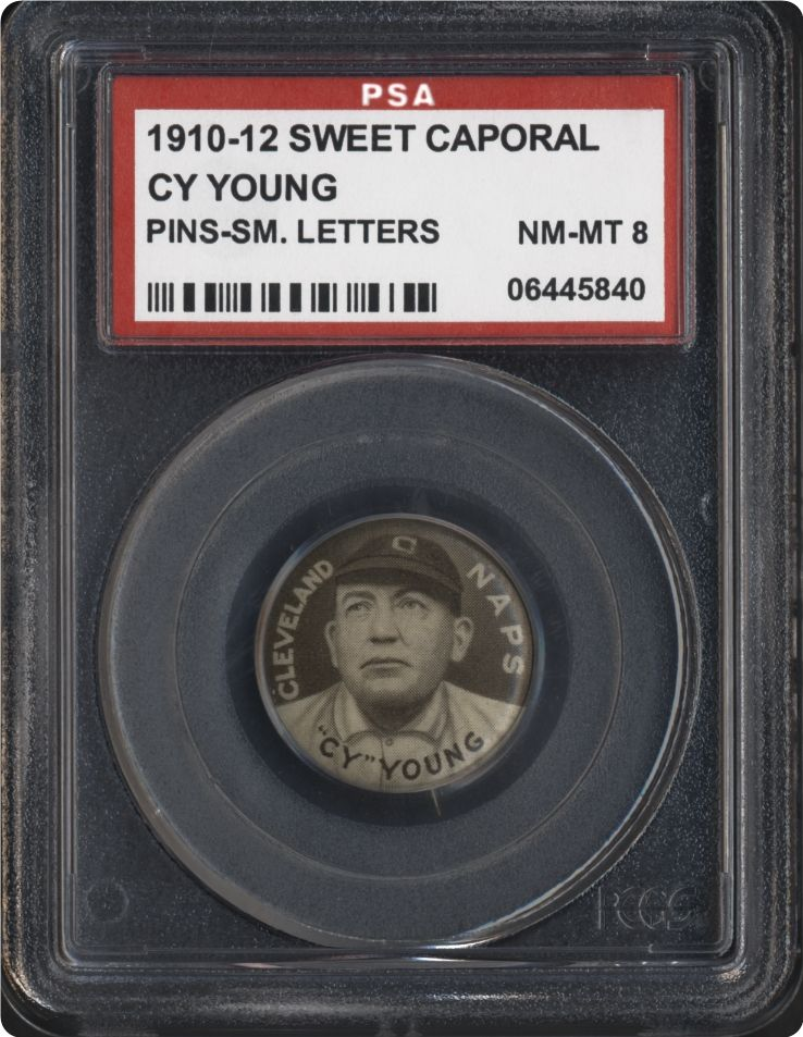 Baseball Cards - 1910-12 Sweet Caporal Pins (P2) | PSA CardFacts™