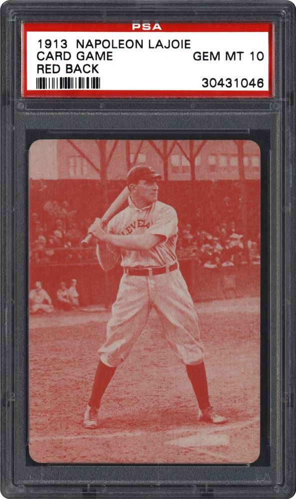Baseball Cards 1913 Napoleon Lajoie Card Game Psa Cardfacts