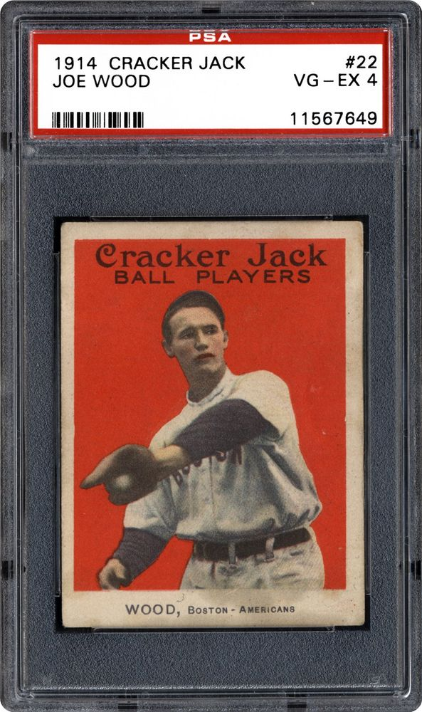 Auction Prices Realized Baseball Cards 1914 Cracker Jack