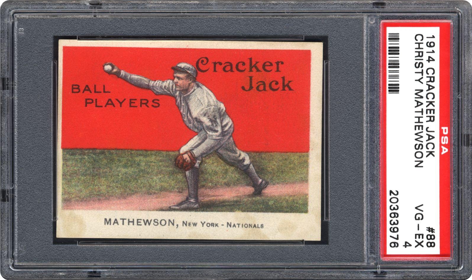 Baseball Cards 1914 Cracker Jack Psa Cardfacts