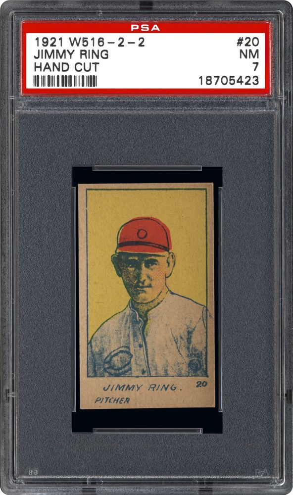 1921 W516 2 2 Jimmy Ring Psa Cardfacts