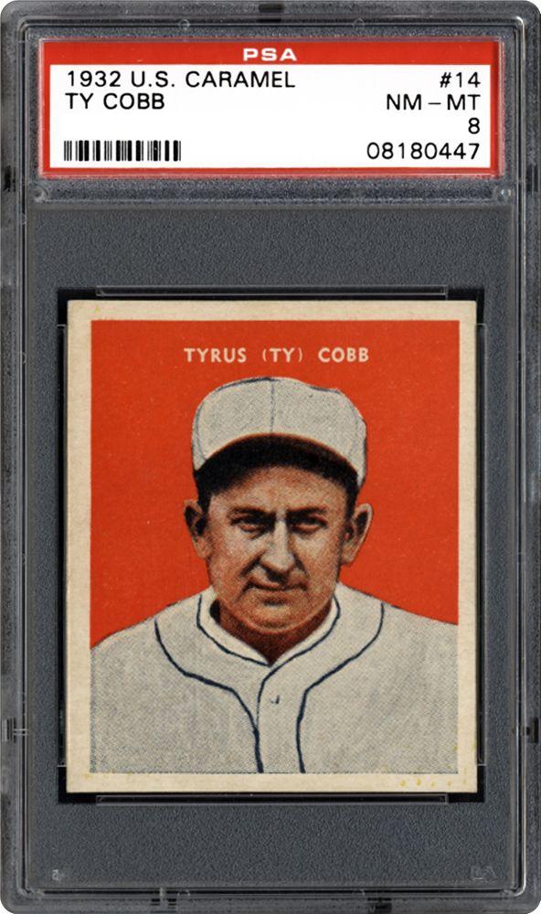 1932 U.S. Caramel Ty Cobb (Baseball)   PSA CardFacts®