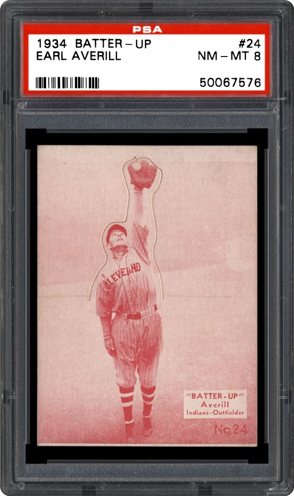1934-36 Batter-Up (R318) Earl Averill | PSA CardFacts™