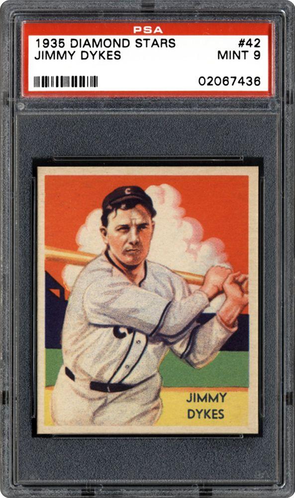 1934 36 Diamond Stars Baseball Cards Psa Smr Price Guide