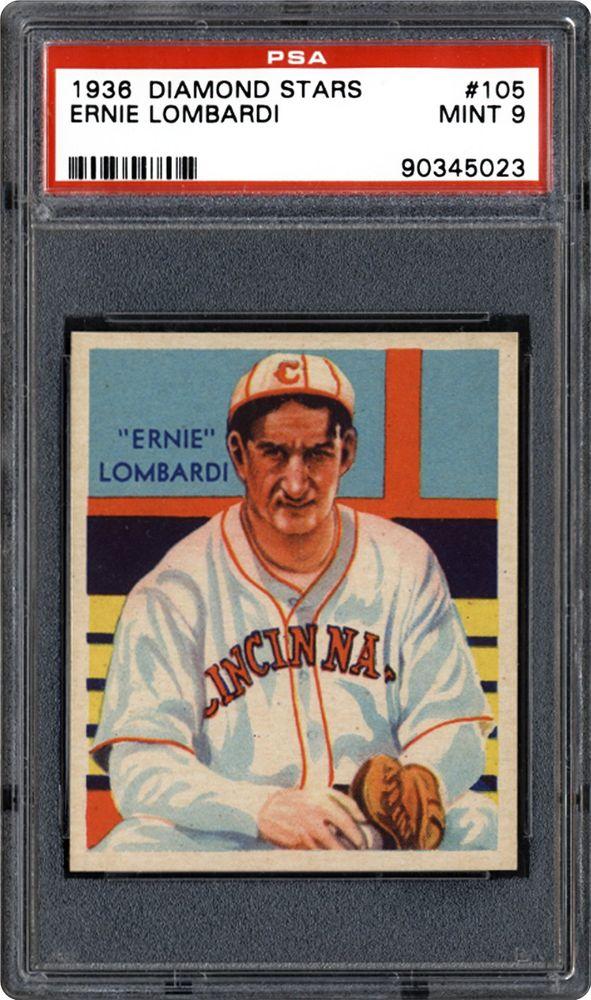 Auction Prices Realized Baseball Cards 1935 Diamond Stars Ernie Lombardi