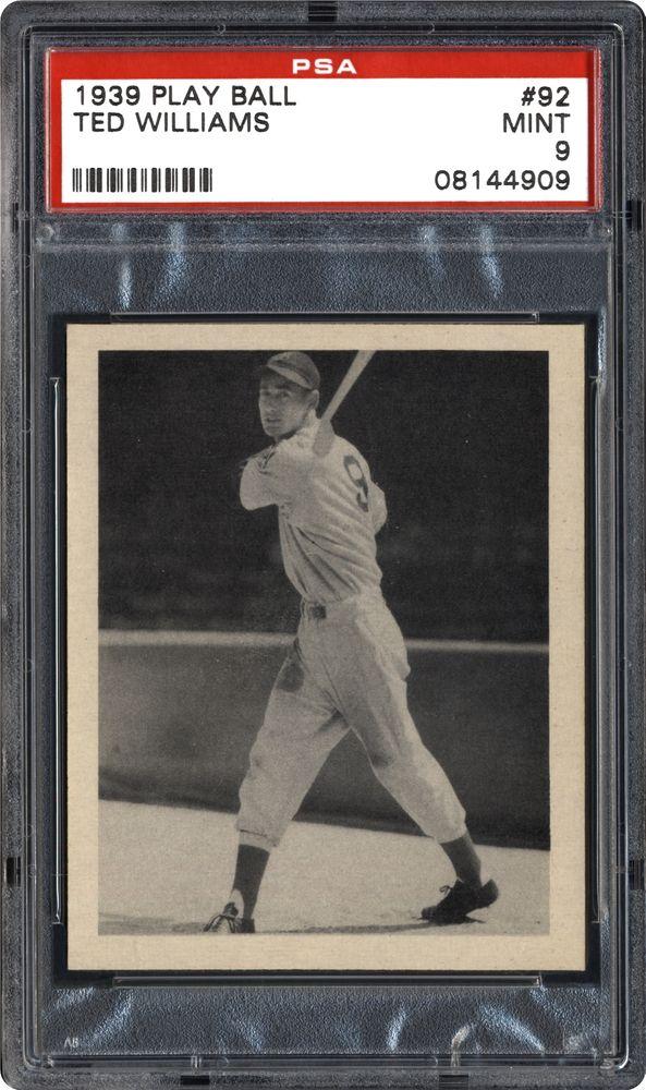 Baseball Cards 1939 Play Ball Psa Cardfacts
