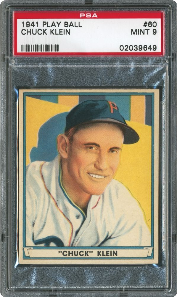 Chuck Klein - 1941 Play Ball