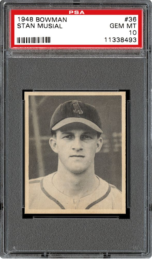 1948 Bowman Stan Musial Psa Cardfacts