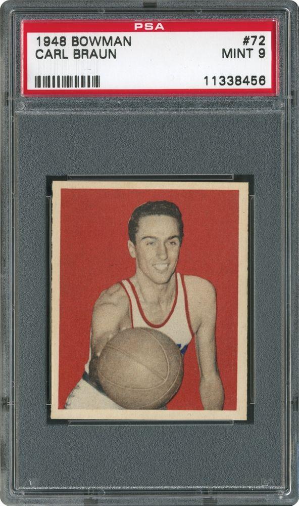 ecf1f4b2422 Basketball Cards - 1948 Bowman | PSA CardFacts™
