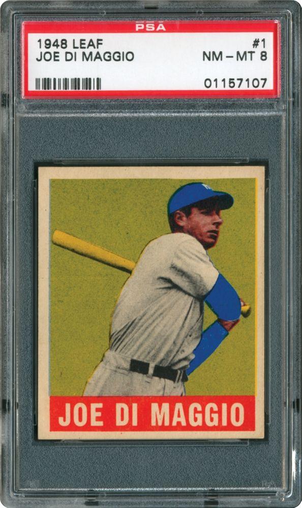 1948 Leaf Joe Di Maggio Psa Cardfacts