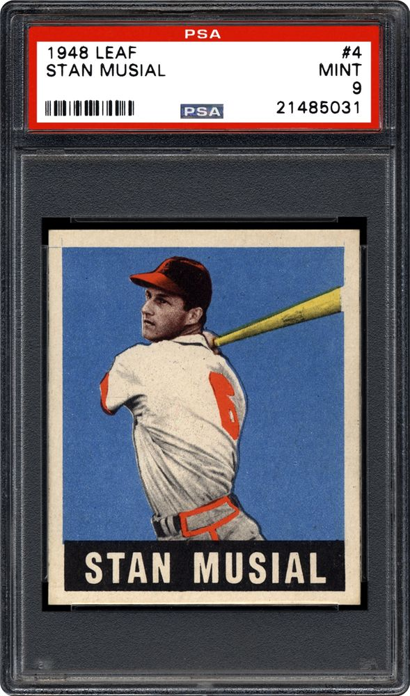 1948 Leaf Stan Musial Psa Cardfacts