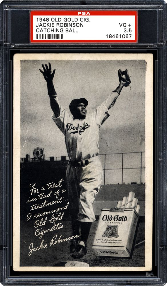 Baseball Cards 1948 Old Gold Cigarettes Psa Cardfacts