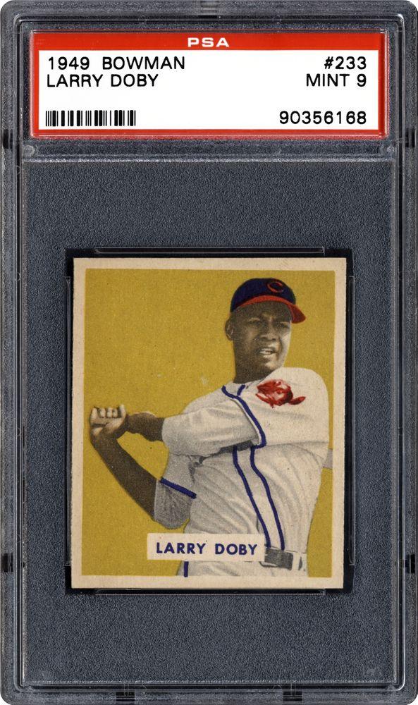 1949 Bowman Larry Doby Psa Cardfacts