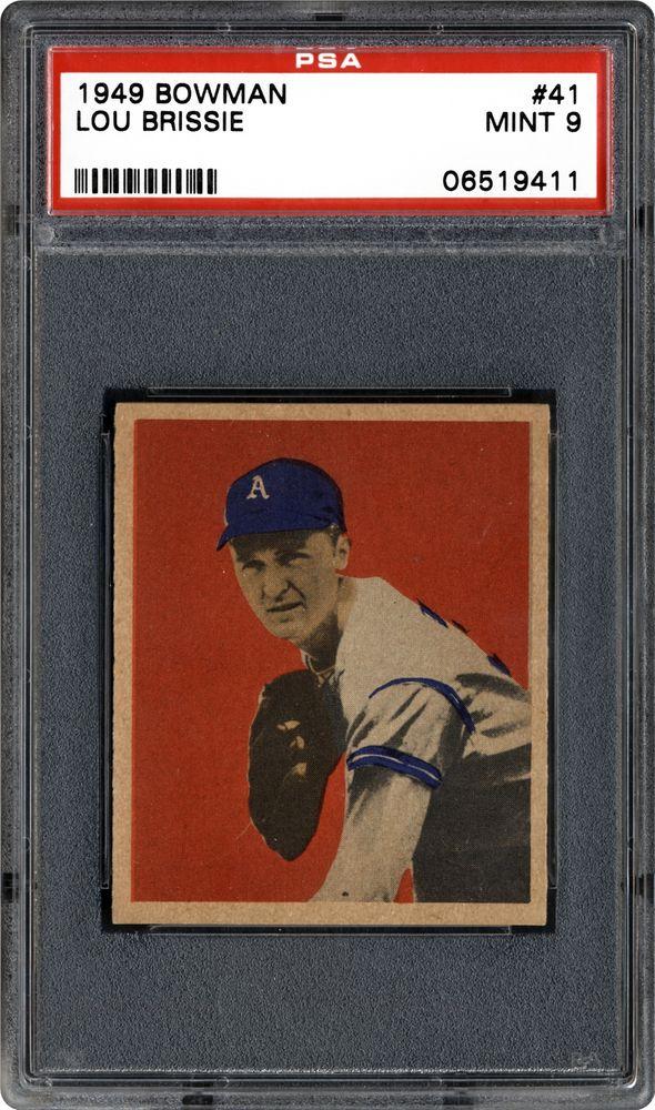 1949 Bowman Lou Brissie Psa Cardfacts