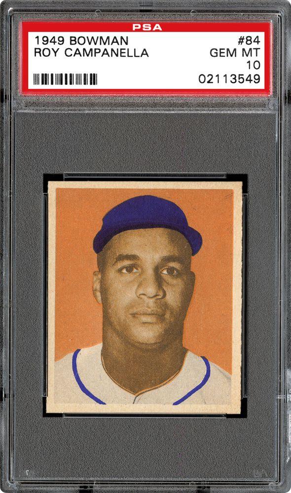 1949 Bowman Baseball Cards Psa Smr Price Guide