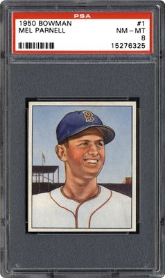 Baseball Cards 1950 Bowman Images Psa Cardfacts