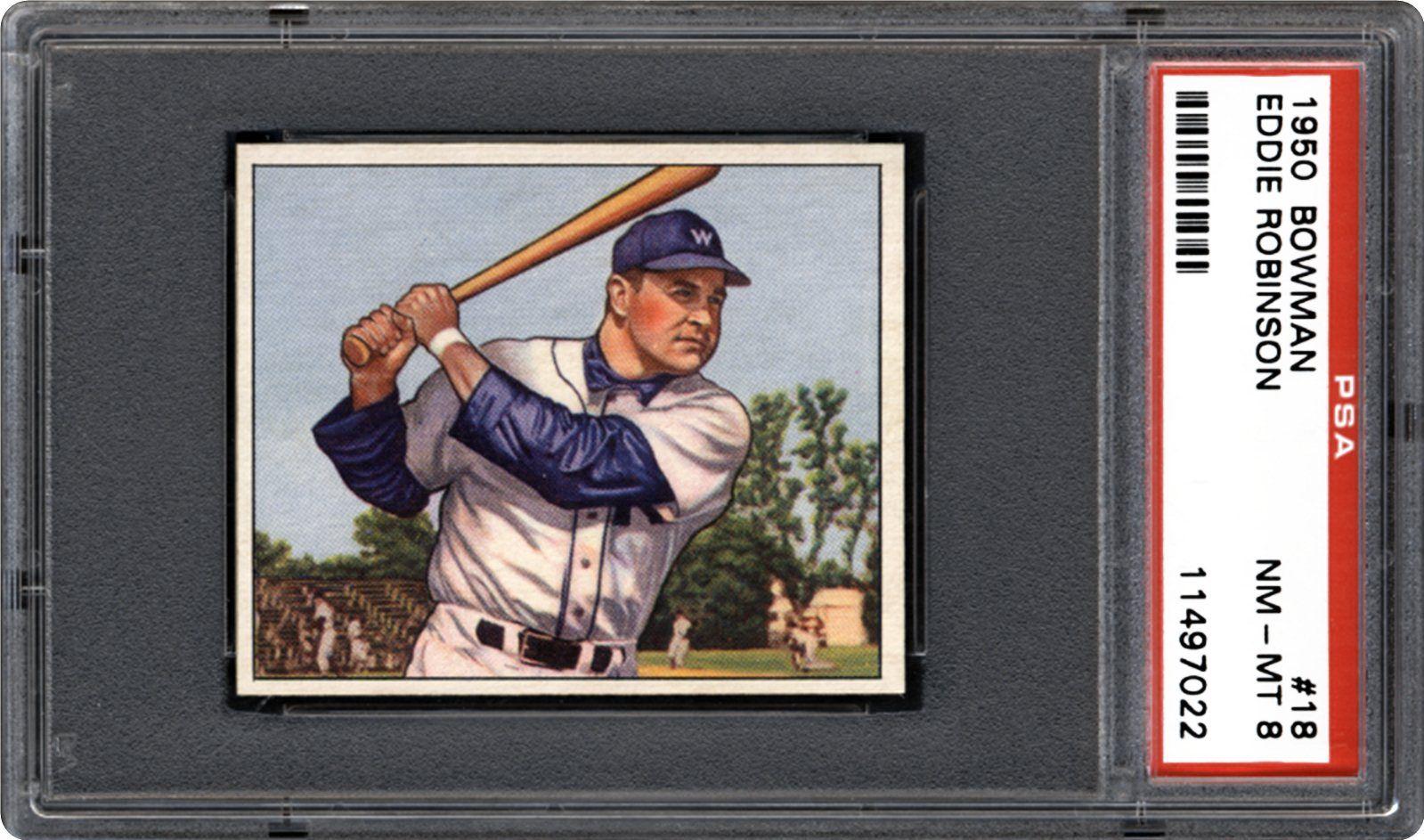 Baseball Cards 1950 Bowman Psa Cardfacts