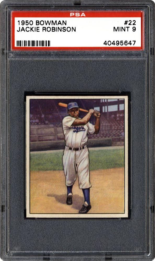 1950 Bowman Jackie Robinson Psa Cardfacts