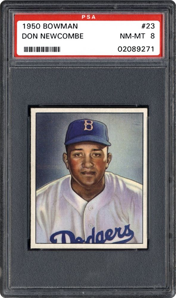 1950 Bowman Don Newcombe Psa Cardfacts