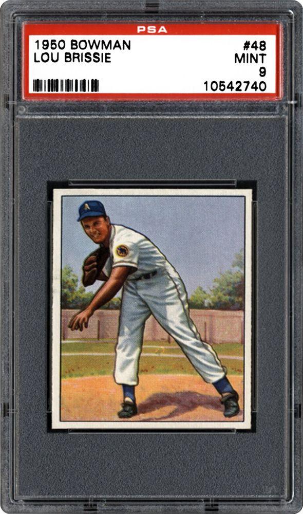 1950 Bowman Lou Brissie Psa Cardfacts