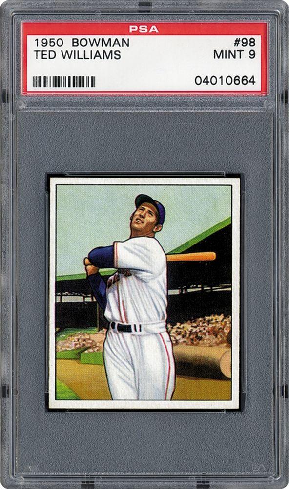 1950 Bowman Baseball Cards Psa Smr Price Guide