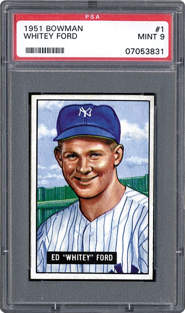 1951 Bowman Whitey Ford Psa Cardfacts