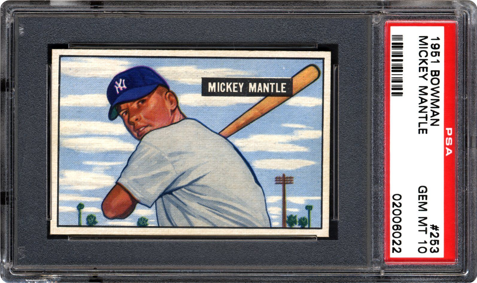 1951 Bowman Mickey Mantle Psa Cardfacts