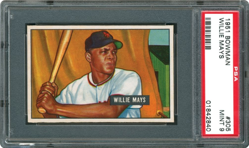 1951 Bowman Willie Mays Psa Cardfacts