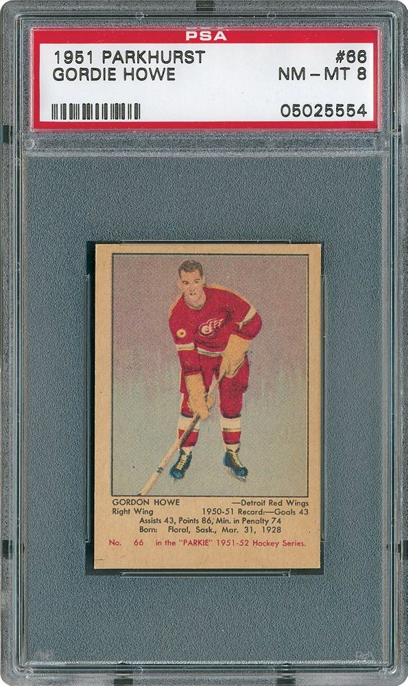 1951 Parkhurst Hockey Cards Psa Smr Price Guide