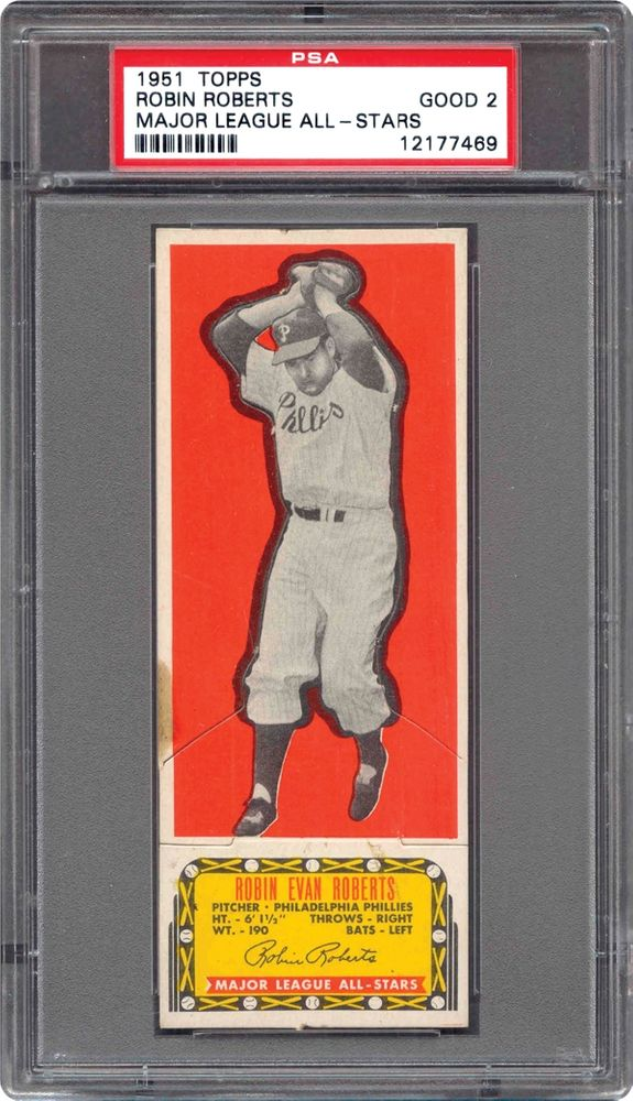 Baseball Cards 1951 Topps Major League All Stars Psa Cardfacts
