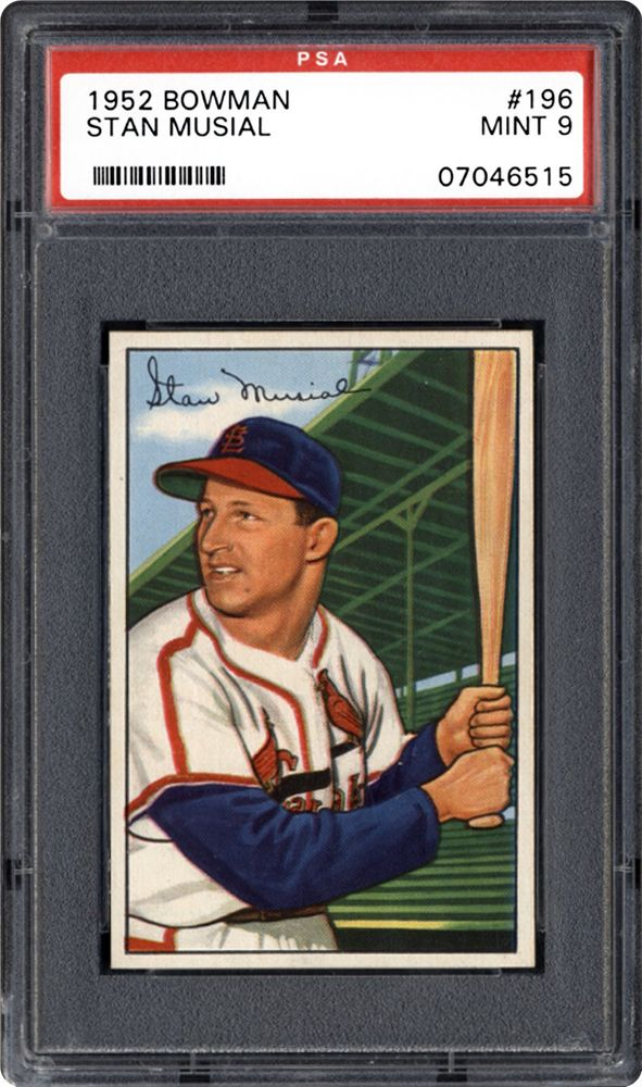 1952 Bowman Stan Musial Psa Cardfacts