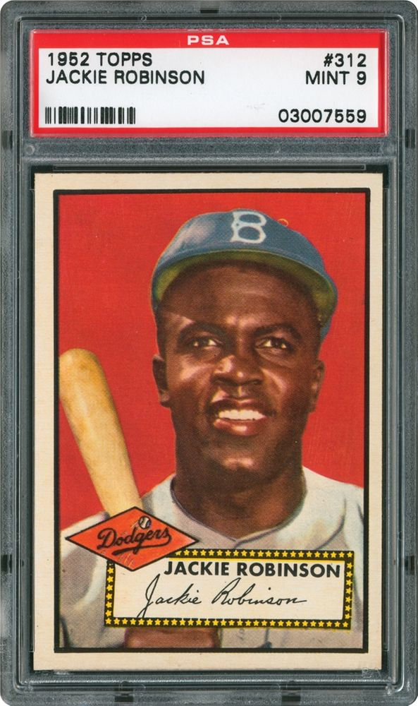 1952 Topps Jackie Robinson Psa Cardfacts