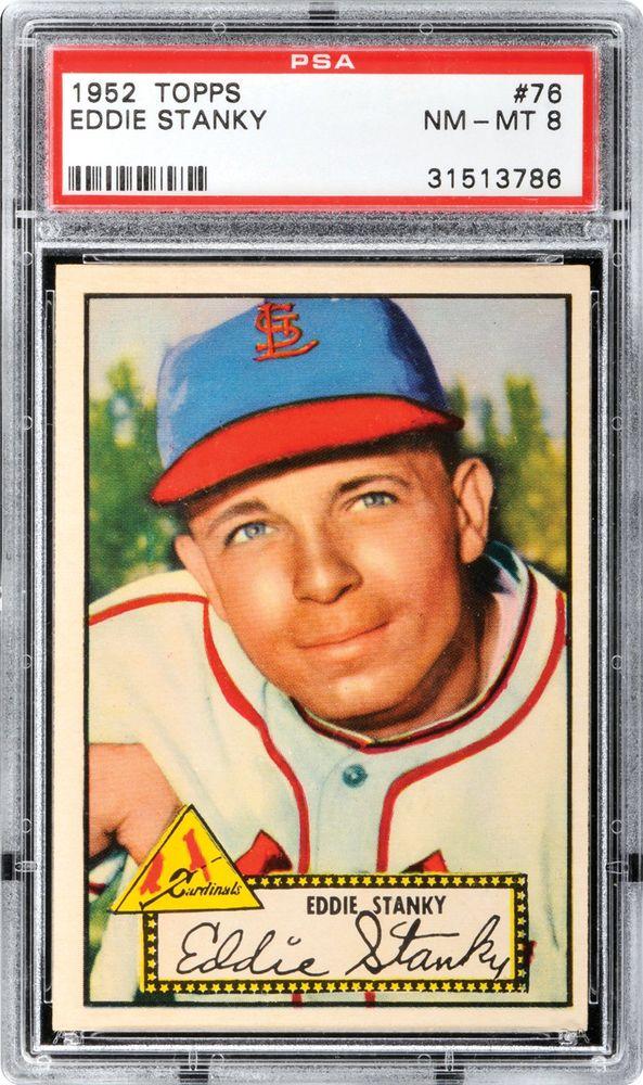 1952 Topps Eddie Stanky Psa Cardfacts
