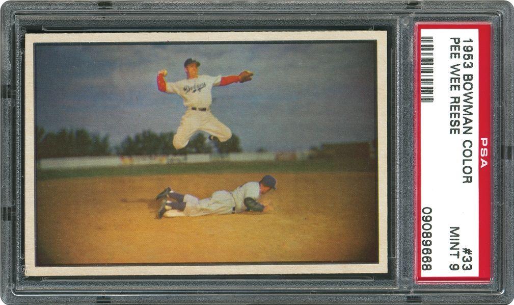 Baseball Cards 1953 Bowman Color Psa Cardfacts