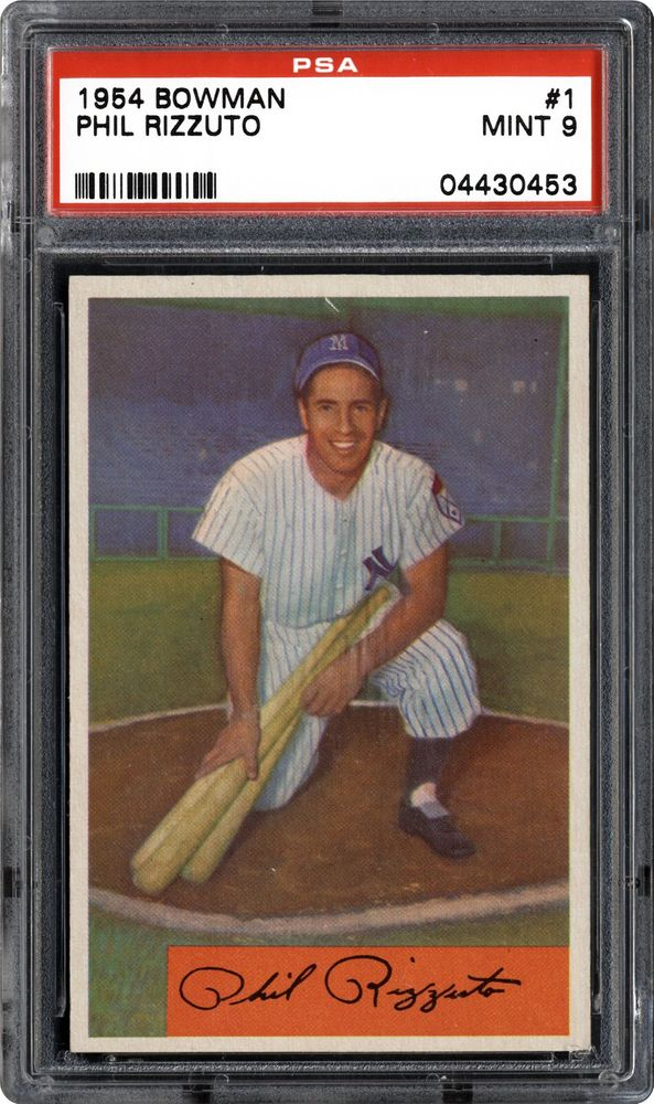1954 Bowman Phil Rizzuto Psa Cardfacts