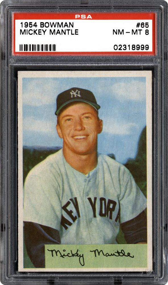 Baseball Cards 1954 Bowman Psa Cardfacts