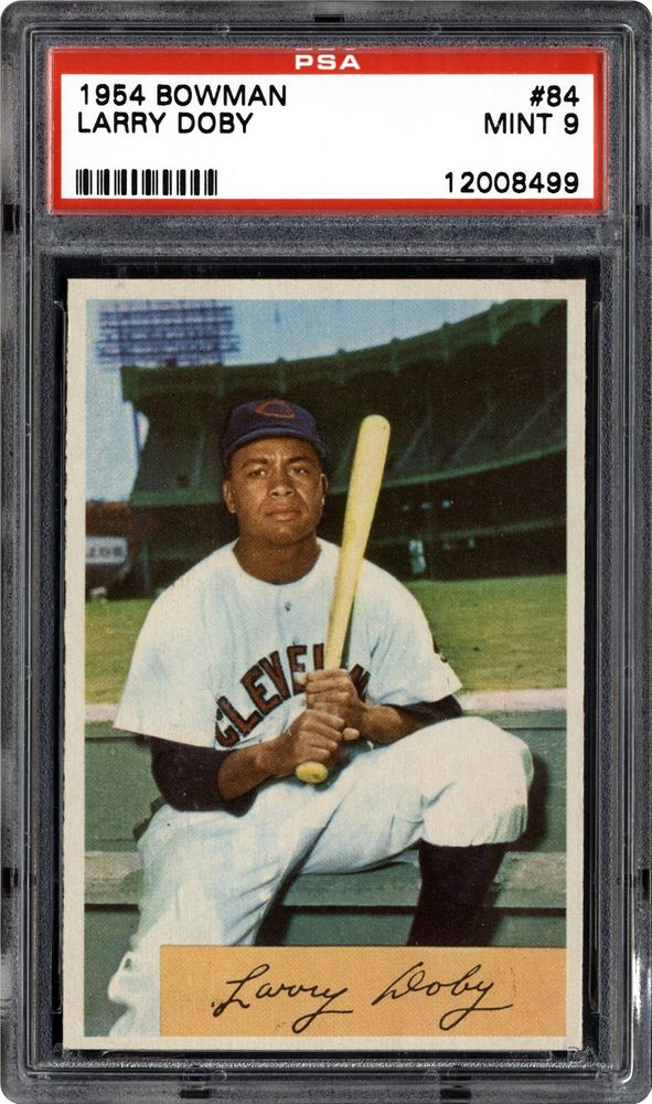 1954 Bowman Larry Doby Psa Cardfacts