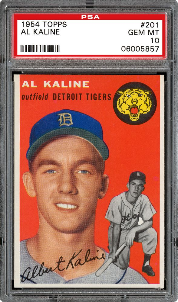 1954 Topps Al Kaline Psa Cardfacts