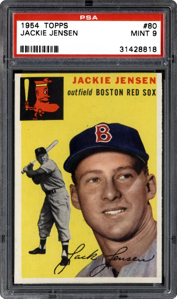 Auction Prices Realized Baseball Cards 1954 Topps Jackie Jensen