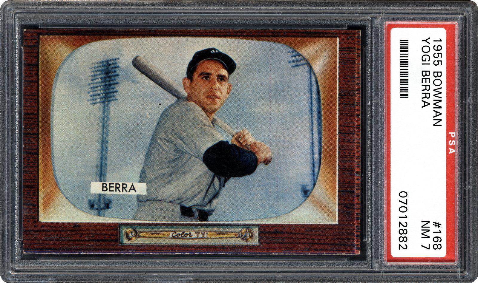 1955 Bowman Yogi Berra Psa Cardfacts