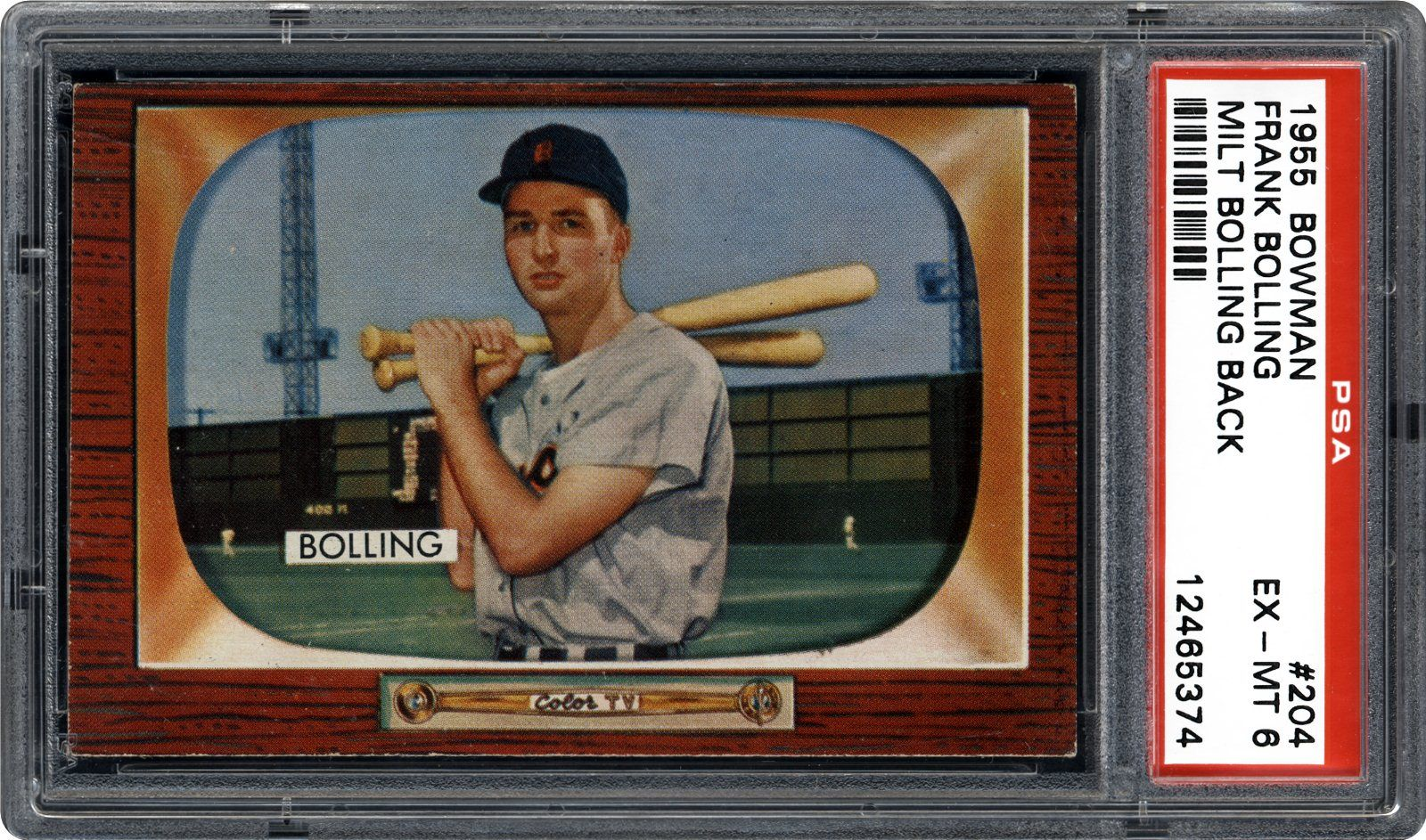 Auction Prices Realized Baseball Cards 1955 Bowman Frank Bolling