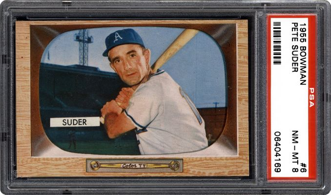 Baseball Cards 1955 Bowman Images Psa Cardfacts