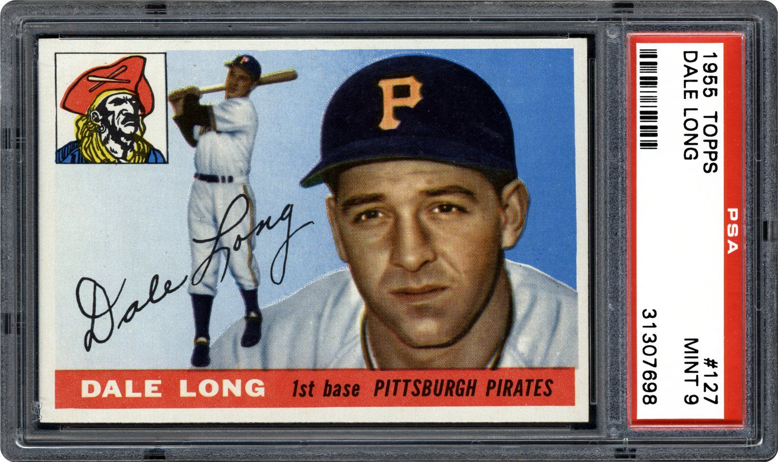 1955 Topps Dale Long Psa Cardfacts