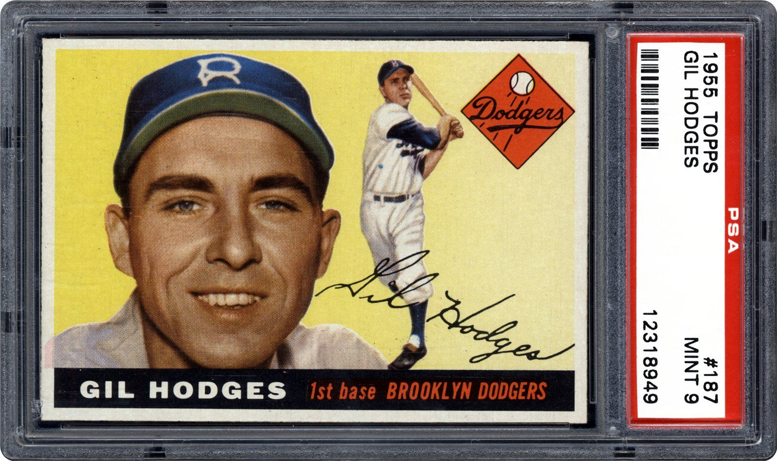Auction Prices Realized Baseball Cards 1955 Topps Gil Hodges