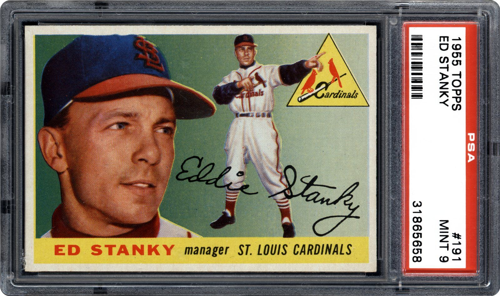1955 Topps Ed Stanky Psa Cardfacts