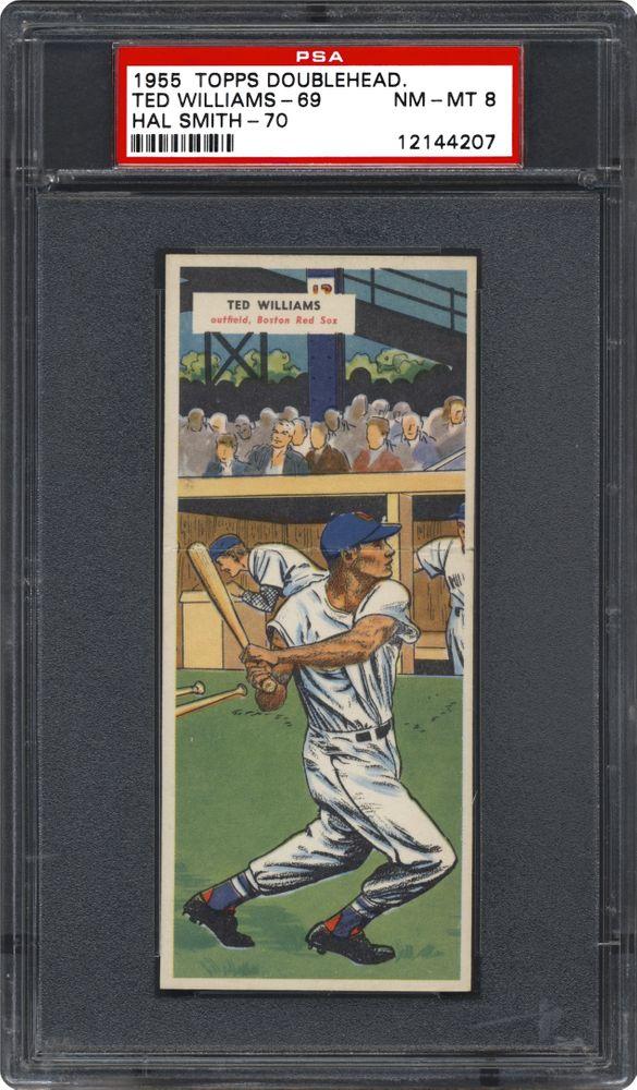 1955 Topps Double Headers Baseball Cards Psa Smr Price Guide