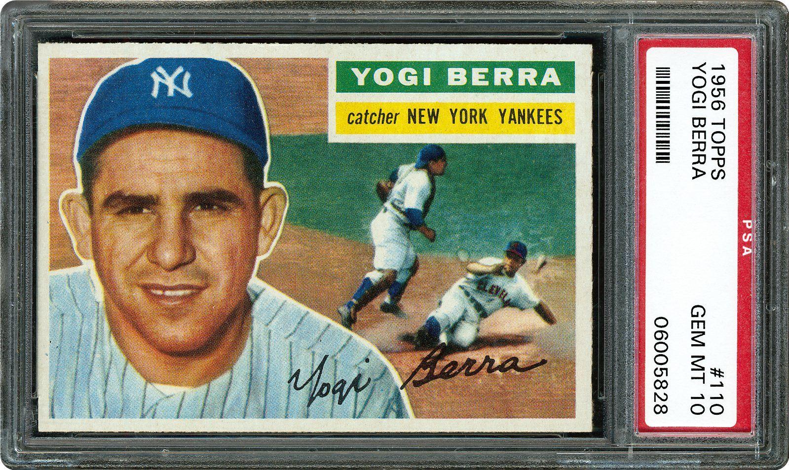1956 Topps Yogi Berra Psa Cardfacts