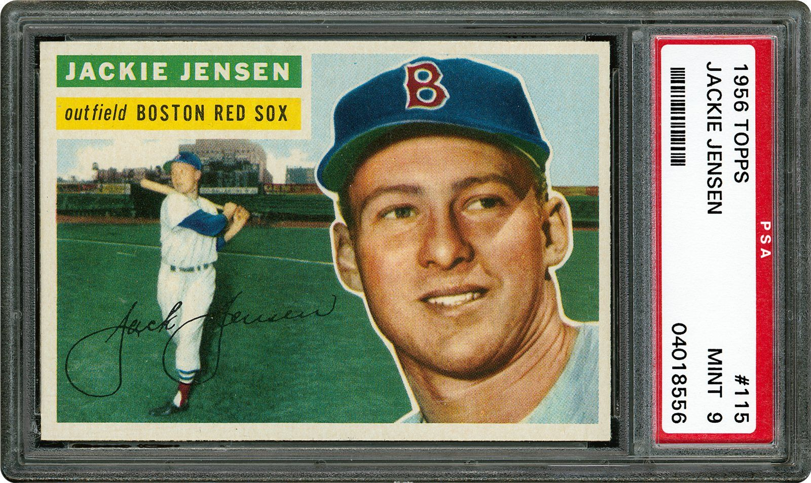 Auction Prices Realized Baseball Cards 1956 Topps Jackie